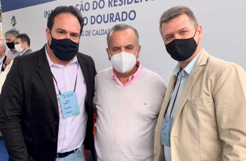 Projeto contra alagamento no Parque da Figueira é entregue ao Ministro de Desenvolvimento Regional