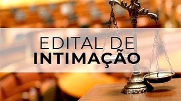 Edital de Intimação - Reconhecimento Extrajudicial de Usucapião