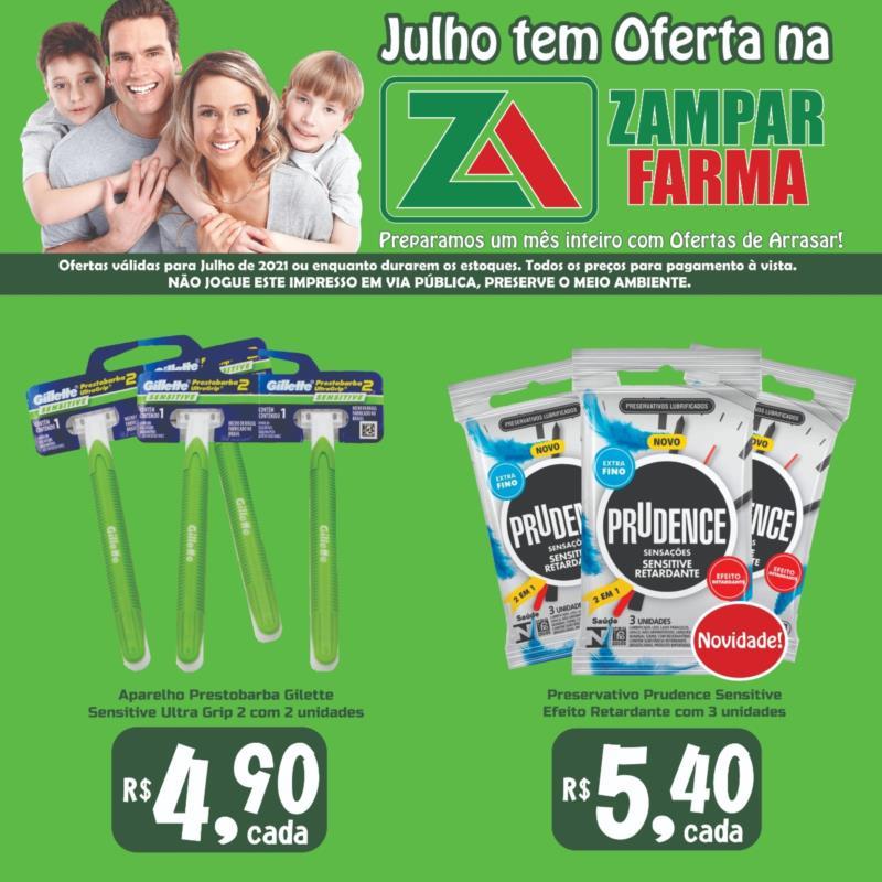 Promoções do mês de julho na Zampar Farma