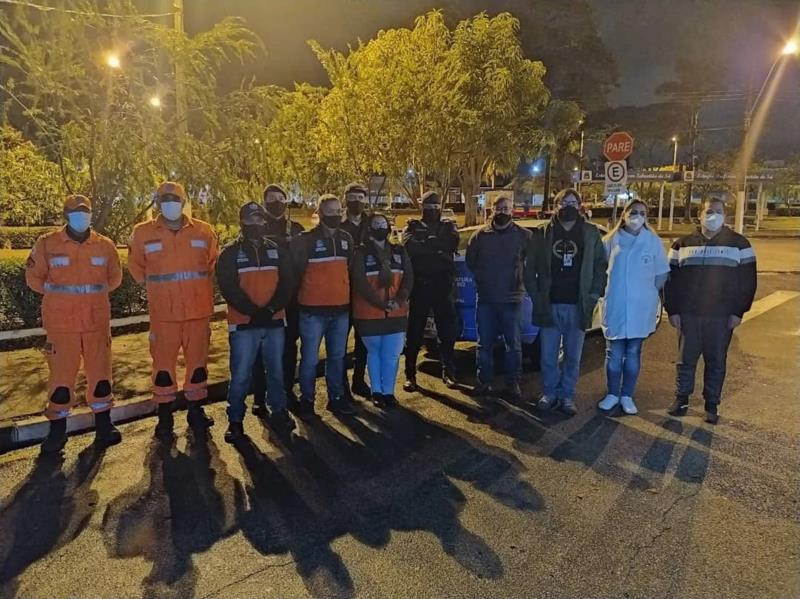 Operação conjunta resgata moradores de rua em Guaxupé