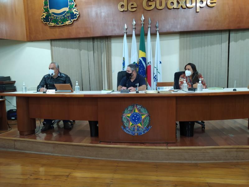 Em reunião na Câmara de Guaxupé, extensão do auxílio emergencial é discutido