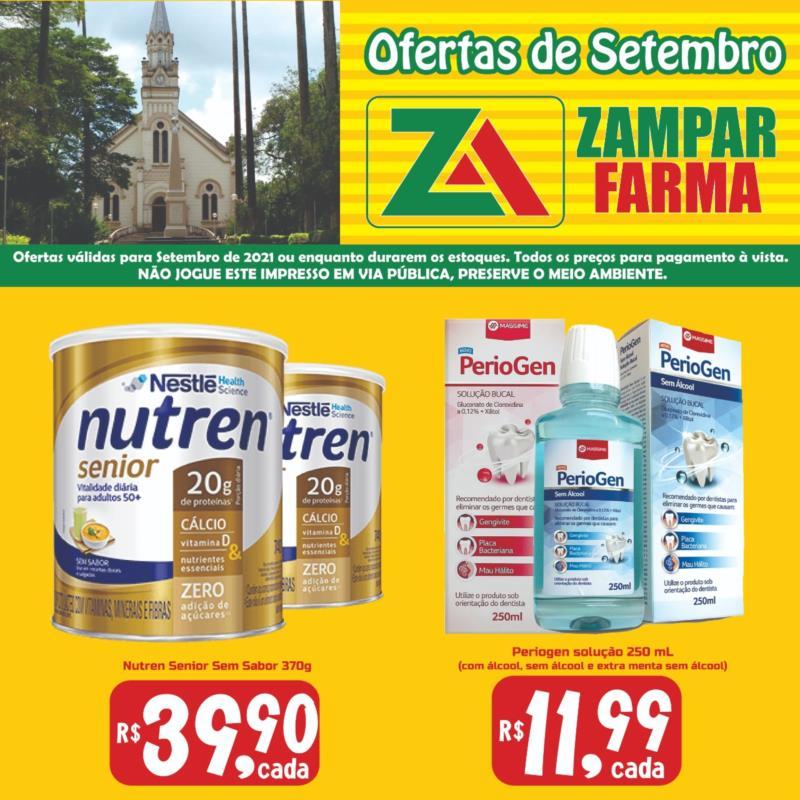 Confira as ofertas do mês de setembro da Zampar Farma