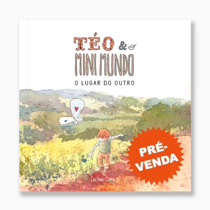 """Guaxupeano Caetano Cury lança segundo livro """"Téo & O Mini Mundo"""""""